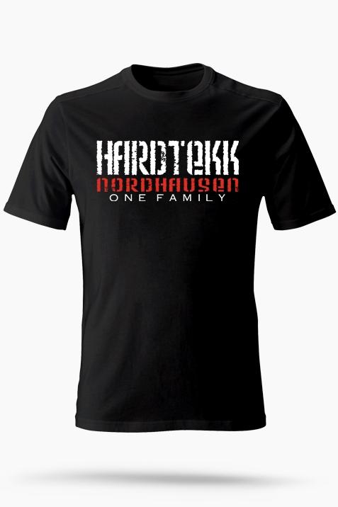 T-Shirt- Hardtekk Nordhausen schwarz