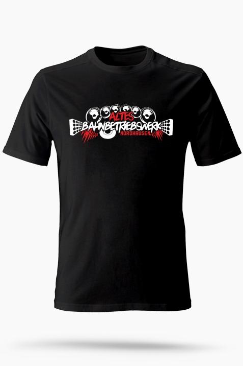 T-Shirt- Altes Bahnbetriebswerk schwarz