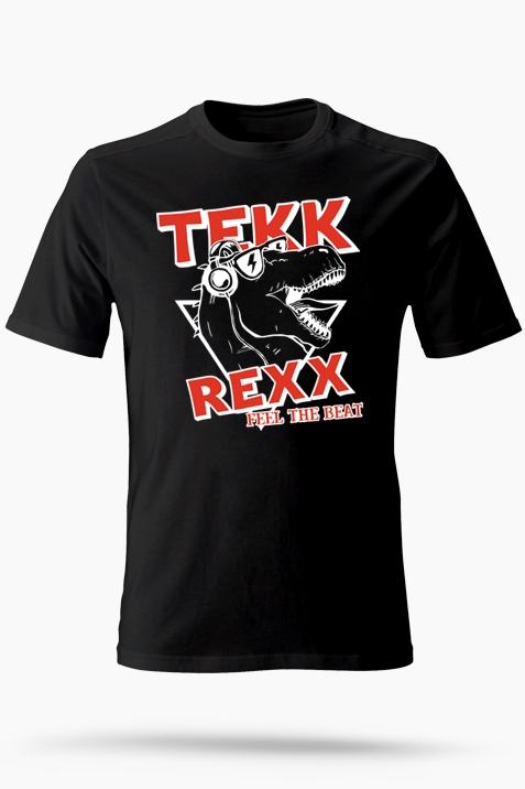 T-Shirt- Tekk Rexx schwarz