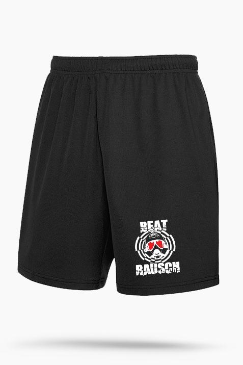 Short- Beat Rausch Logo schwarz