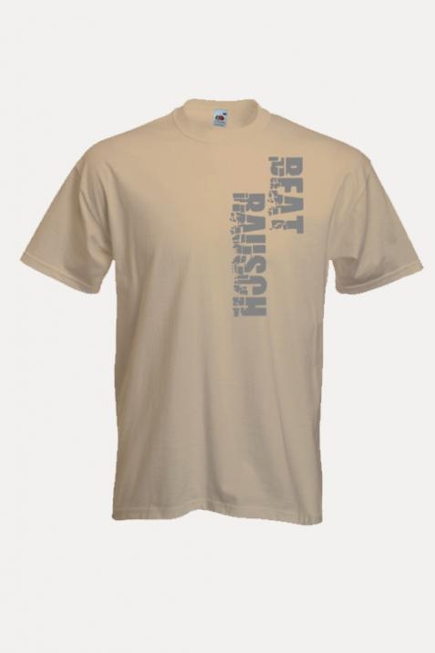 T-Shirt- BR-Schriftzug beige
