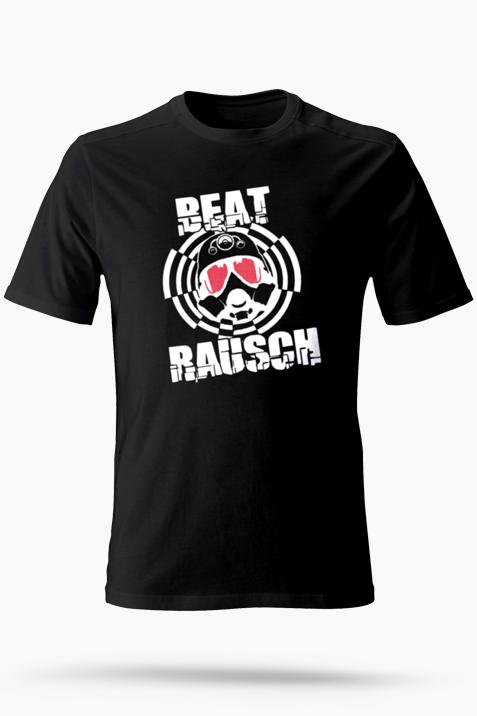 T-Shirt- Beat Rausch Logo groß schwarz