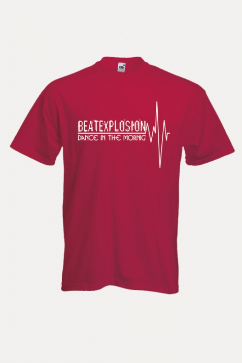 T-Shirt- Beatexplosion rot