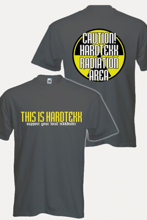 T-Shirt- This is Hardtekk graphit